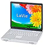 NEC LaVie L (S3000+ 256MB 40GB COMBO 15TFT WinodwsXPHome Office) [PC-GL30URCG2OFF]