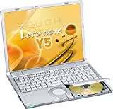 Panasonic Let's note LIGHT CF-Y5 (Core Duo L2300, 512MB, 60GB,DVDスーパーマルチ,14.1