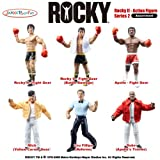 Rocky - Action Figure: Series 2 - Rocky II (Set of 6)
