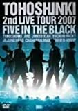 2nd LIVE TOUR~Five in the Black〈初回限定盤〉(仮)