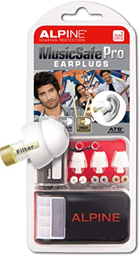 ALPINE 耳栓 HEARING PROTECTION MusicSafe Pro ホワイト