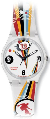 swatch (スウォッチ) 腕時計 Summer Sports CRAZY YOUNGSTERS GE198 [正規輸入品]: 時計