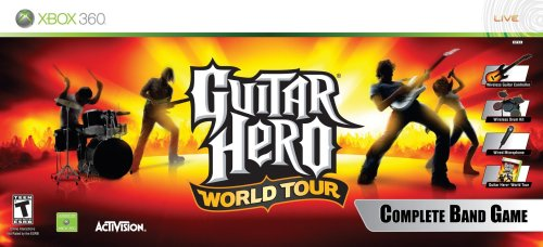 Guitar Hero World Tour Band Bundle Nla