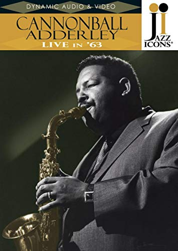 Jazz Icons: Cannonball Adderley Live in 63 [DVD] [Import]