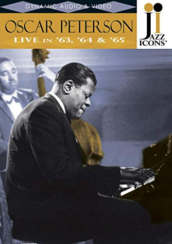 Jazz Icons: Oscar Peterson Live in '63, '64 & '65 [DVD] [Import]
