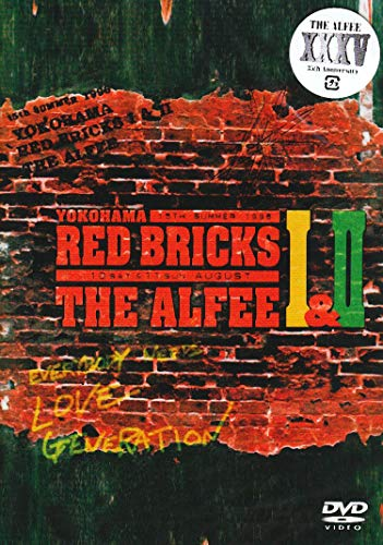 YOKOHAMA RED BRICKS I& II THE ALFEE 15th Summer 1996 10 SAT & 11 SUN AUGUST [DVD]