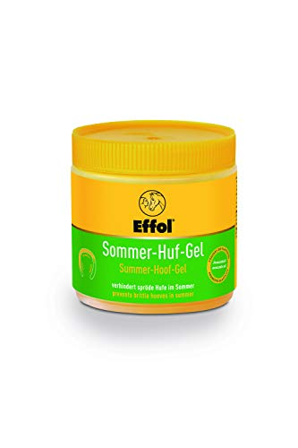 Effol Summer Hoof Gel 500ml-ideal hoof-care for summer months. Takes into consideration the faster growth of horses' hooves in warm weather. by William Hunter Equestrian