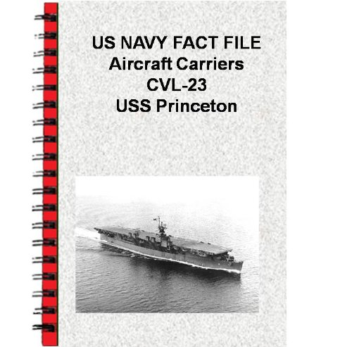 US NAVY FACT FILE Aircraft Carriers CVL-23 USS Princeton (English Edition)