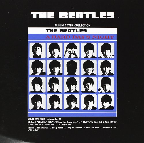 The Beatles A Hard Days Night Album 新しい 公式 any occasion グリーティングカード