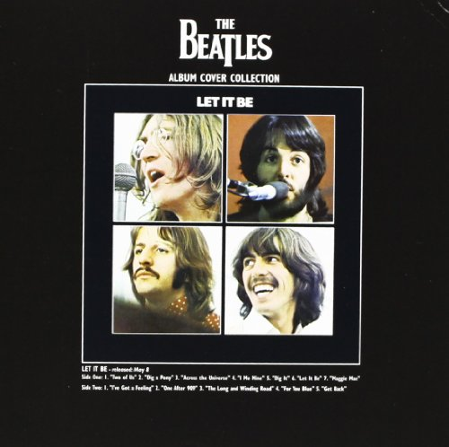 The Beatles Let it Be Album 新しい 公式 any occasion グリーティングカード