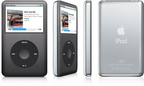 Apple iPod classic 160GB ブラック MC297J/A