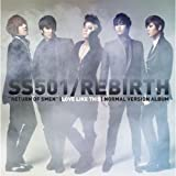 SS501 Mini Album - Rebirth (通常版)(韓国盤)