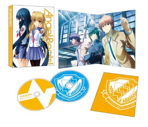 AngelBeats! Blu-ray Disc 4