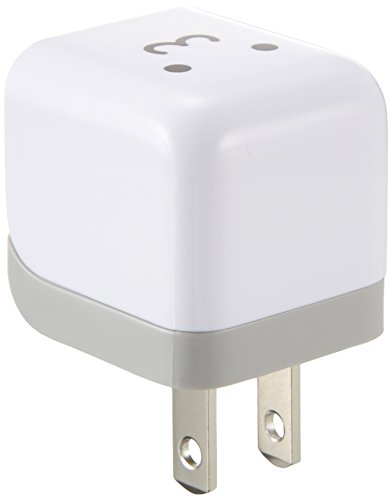 ELECOM エレコム iPhone6 iPhone6 Plus 対応 iPod/iPhone5/4S/4/3GS/3G 対応 AC充電器 cube型 USB FACE AVA-ACU01F1