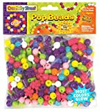 「Chenille Kraft 300-Piece Pop Beads by Chenille Kraft」のサムネイル画像