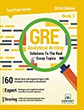 「GRE Analytical Writing: Solutions to the Real Essay Topics - Book 1 (Test Prep Series 19) (English E...」のサムネイル画像