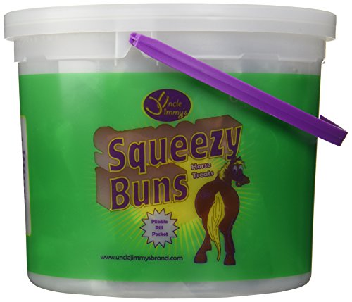 Uncle Jimmy's 65 Count Squeezy Buns Nutritional Supplements - 3 lbs by Uncle Jimmys