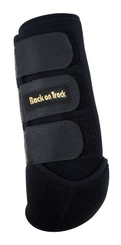 Back on Track Therapeutic Horse Exercise Boot for Front Leg, Medium, Black by Back on Track
