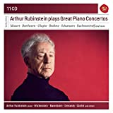 「Arthur Rubinstein Plays Great Piano Concertos (Sony Classical Masters)」のサムネイル画像