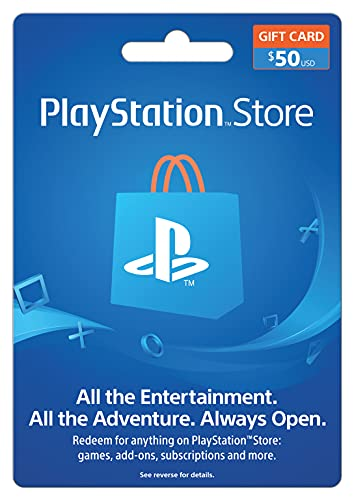 PlayStation Store Gift Card 50 (輸入版:北米)
