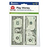 Learning Resources Play Money Smart Pack 【英語玩具 お金 ドル】 アメリカ通貨 紙幣ミニセット(100枚入り) 正規品