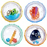 「Munchkin Float and Play Bubbles Bath Toy, 4 Count by Munchkin」のサムネイル画像