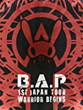 「1ST JAPAN TOUR LIVE DVD「WARRIOR Begins」(初回限定版-LIMITED EDITION-)」のサムネイル画像