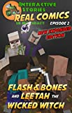 Amazing Minecraft Comics: Flash and Bones and Leetah the Wicked Witch: The Greatest Minecraft Comics for Kids (Real Comics In Minecraft - Flash And Bones Book 2) (English Edition)