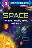 「Space: Planets, Moons, Stars, and More! (Step into Reading) (English Edition)」のサムネイル画像