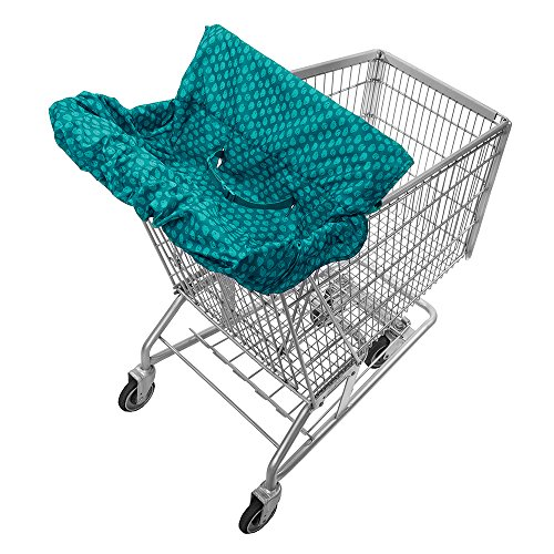 Infantino Fold Away Cart Cover, Teal by Infantino