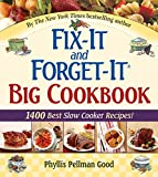 「Fix-It and Forget-It Big Cookbook: 1400 Best Slow Cooker Recipes!」のサムネイル画像