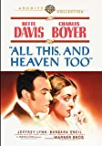 「All This, and Heaven Too [DVD]」のサムネイル画像
