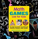 「Math Games Lab for Kids: Fun, Hands-On Activities for Learning with Shapes, Puzzles, and Games (Engl...」のサムネイル画像