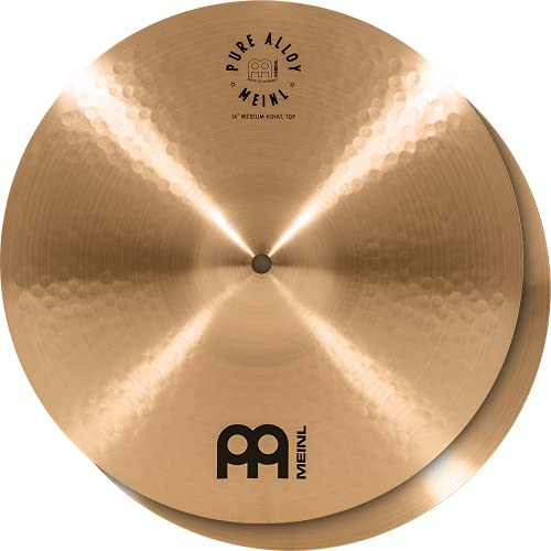 MEINL Cymbals マイネル Pure Alloy Series ハイハットシンバル 14