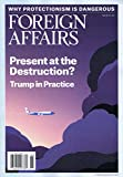 Foreign Affairs [US] May - June 2017 (単号)
