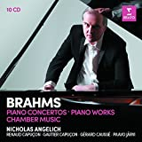 「Nicholas Angelich - Brahms : Piano Concertos / Piano Warks / Chamber Music」のサムネイル画像