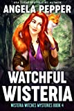 「Watchful Wisteria (Wisteria Witches Mysteries Book 4) (English Edition)」のサムネイル画像