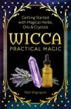 「Wicca Practical Magic: Getting Started with Magical Herbs, Oils, and Crystals (English Edition)」のサムネイル画像