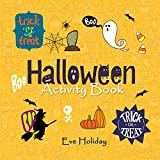 Halloween Activity Book: Spot the Differences, Word Puzzles, Mazes, and Jokes! (English Edition)
