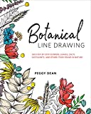 「Botanical Line Drawing: 200 Step-by-Step Flowers, Leaves, Cacti, Succulents, and Other Items Found i...」のサムネイル画像