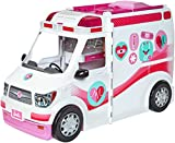 「Barbie FRM19 CAREERS Care Clinic Ambulance Play, Role Model, Lights and Sounds, Lots of Accessories ...」のサムネイル画像