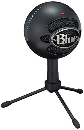 Blue Microphones Snowball iCE Black【日本正規代理店品・メーカー保証2年】ブラック 黒 1929 単一指向性 コンデンサーマイク