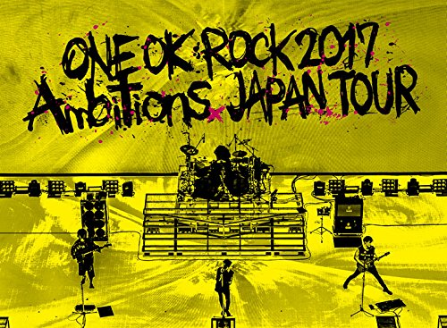 "LIVE DVD「ONE OK ROCK 2017 ""Ambitions  JAPAN TOUR」 <"