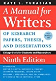 「A Manual for Writers of Research Papers, Theses, and Dissertations, Ninth Edition: Chicago Style for...」のサムネイル画像