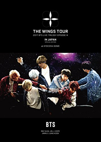 2017 BTS LIVE TRILOGY EPISODE III THE WINGS TOUR  IN JAPAN ~SPECIAL EDITION~ at KYOCERA DOME(初回限定盤)[DVD]