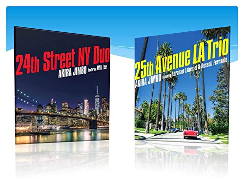 【早期購入特典あり】24th Street NY Duo (featuring Will Lee)/25th Avenue LA Trio (featuring Abraham Laboriel & Russel Ferrante)(メーカー多売:卓上カレンダー付き)