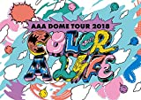 「AAA DOME TOUR 2018 COLOR A LIFE(DVD2枚組+グッズ)(初回生産限定盤)」のサムネイル画像