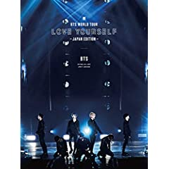 BTS WORLD TOUR 'LOVE YOURSELF' 〜JAPAN EDITION〜(初回限定盤)[Blu-ray]